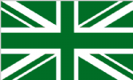 Great Britain Green Large Country Flag - 5' x 3'.